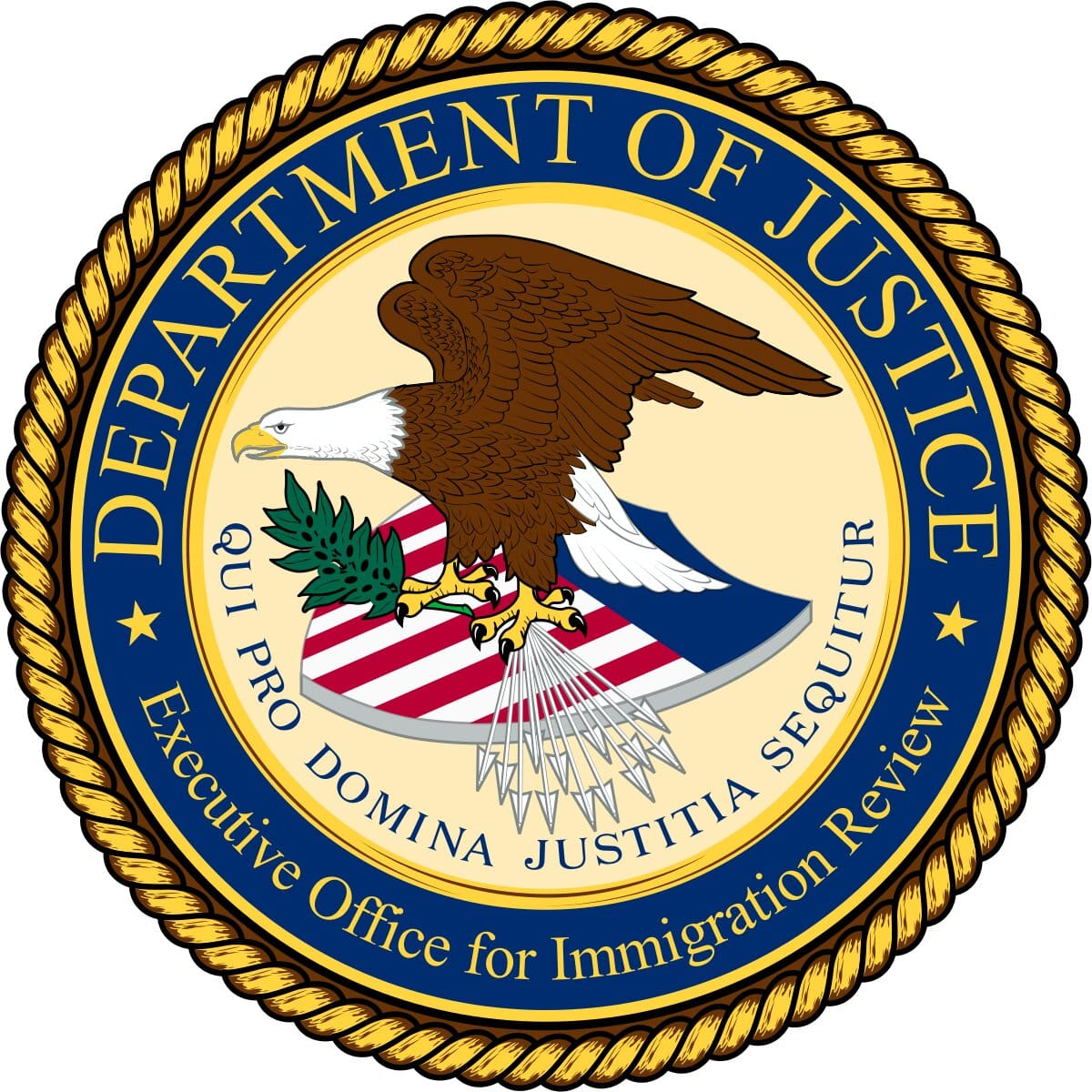Executive Office for Immigration Review Logo